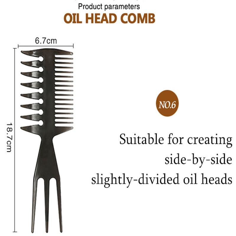 Professional Wide-Tooth Anti-Static Double-Sided Comb