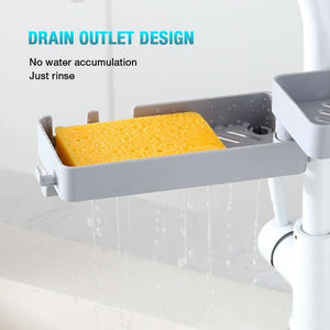 Double Layer Faucet Rack