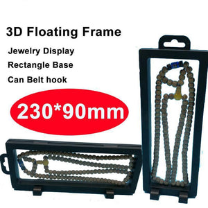 3D Floating Jewelry Display Frame