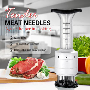 2 in 1 Flavor Enhancer Tenderizer & Injector Marinator(50% OFF)