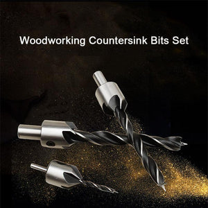 Woodworking Drilling Chamfer Tool Set