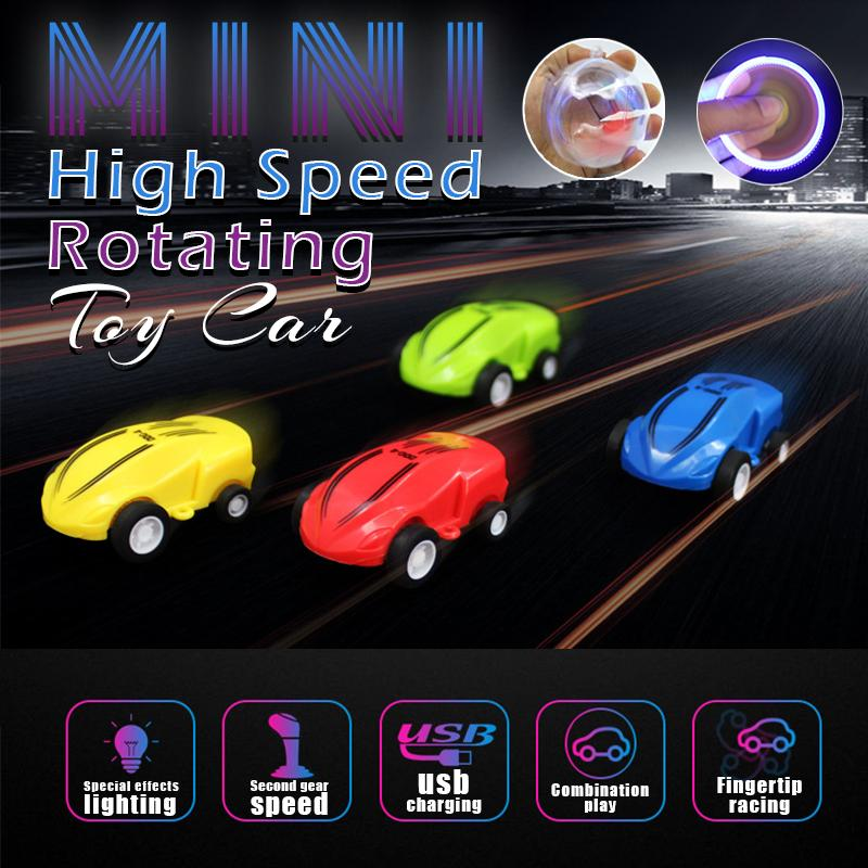 Mini High Speed Rotating Toy Car