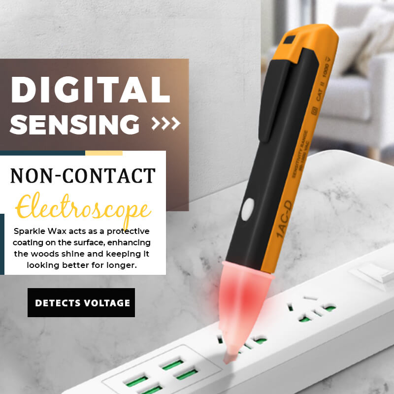 🔥Only $9.99✨✨Digital Sensing Non-contact Electroscope