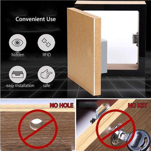 Invisible Induction Drawer Lock