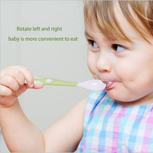Baby feeding training spoon
