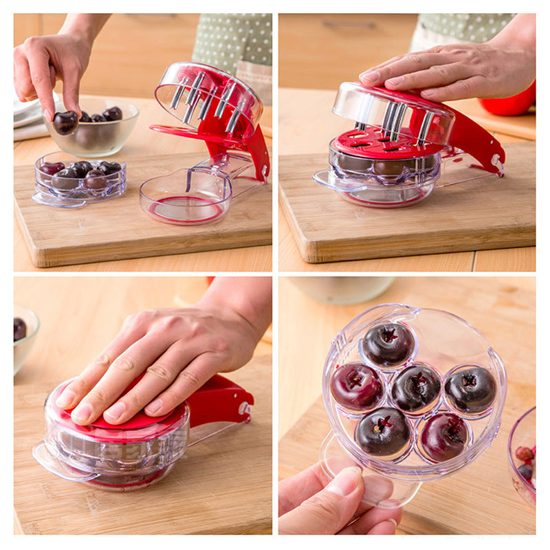 Six-Hole Cherry Corer(50% OFF)