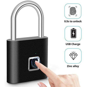 [2020 Latest] Fingerprint Padlock