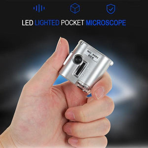 Mintiml LED Lighted Pocket Microscope