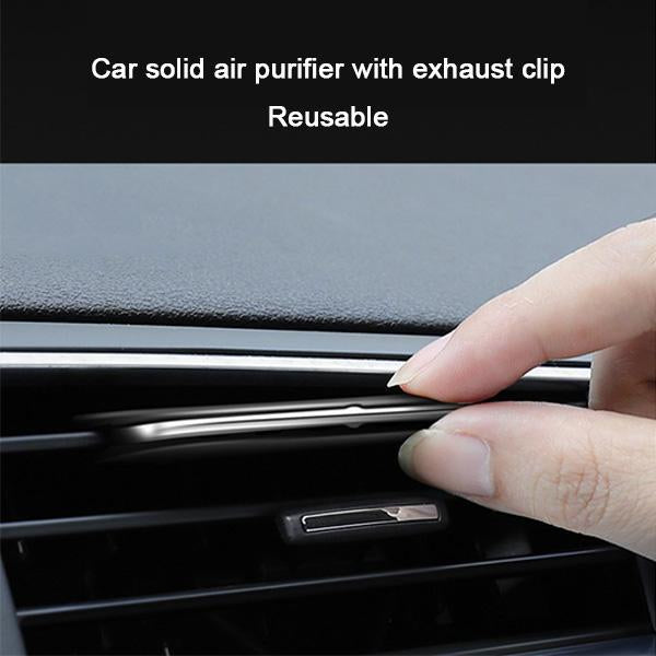 Car Air Vent Solid Perfume with Refill Sticks