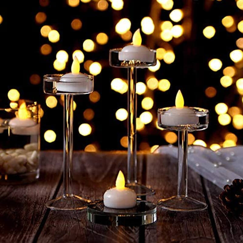 Waterproof Flameless Floating Tealight Candles