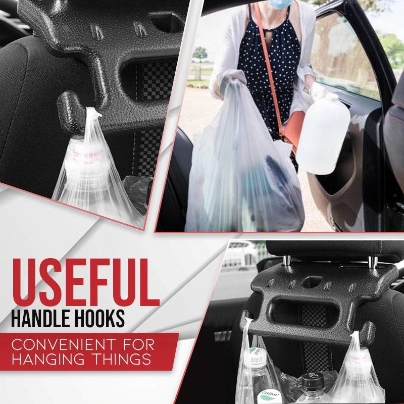 2-in-1 Car Seat Hand Grip Plus Hooks(50% OFF)
