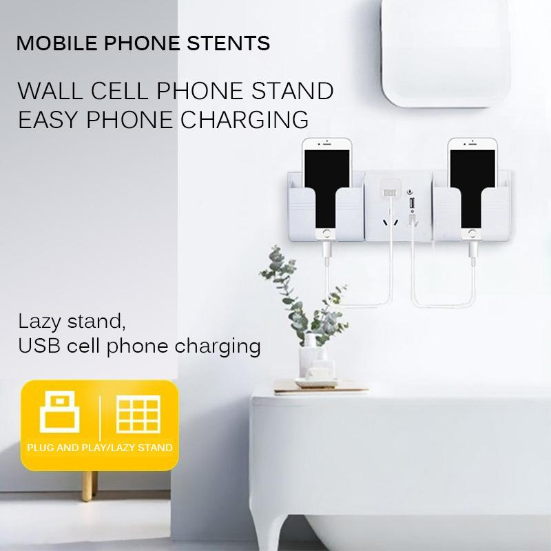 Wall Fixed Mobile Phone Charging Bracket