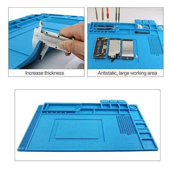 High Temperature Magnetic Silicone Mat