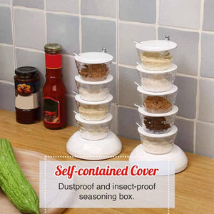 Vertical Rotatable Seasoning Box