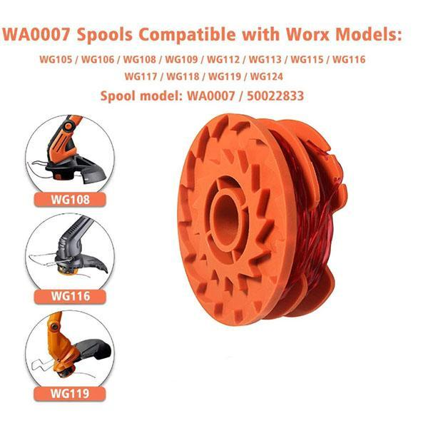 Weed Trimmer Spool Line for Worx