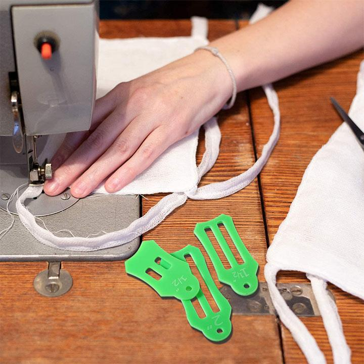 Folding Fabric Biasing Strips Sewing Tool Set