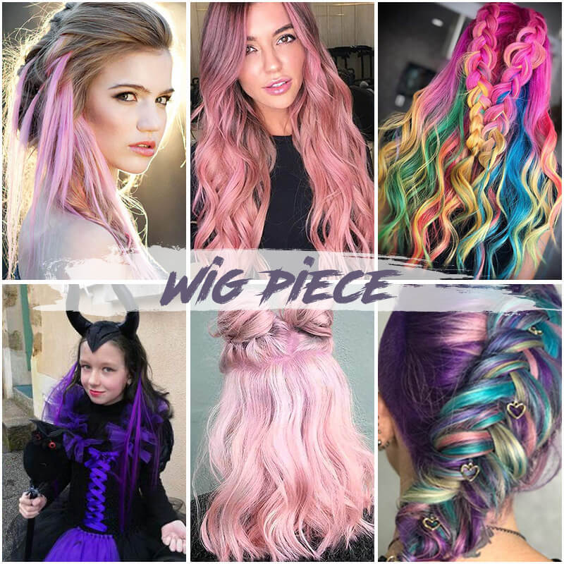 Colorful Wigs Pieces(50% OFF NOW!!!)
