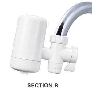 Double Outlet Faucet Filtration System