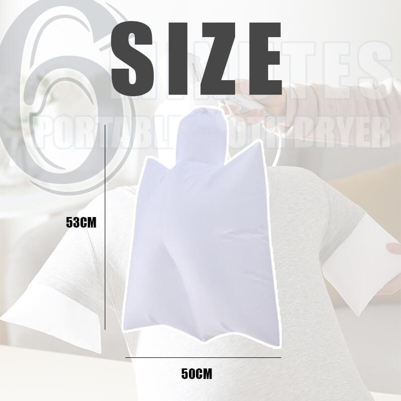 6 Minutes Portable Auxiliary Clothes Drying Bag