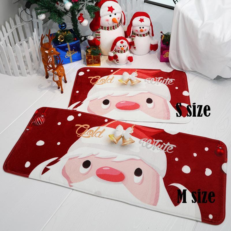 Christmas Non Slip Washable Anti Fatigue Mat