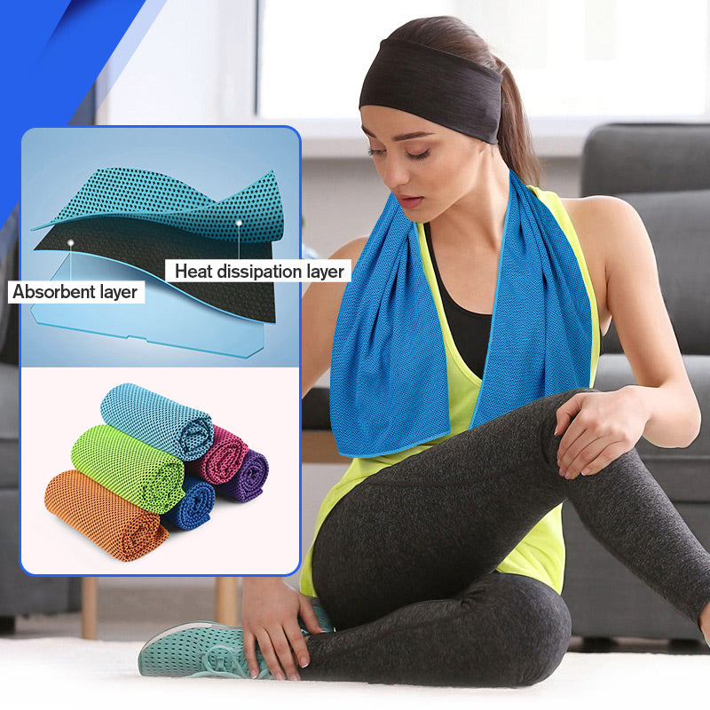 Soft Breathable Cooling Sport Towel
