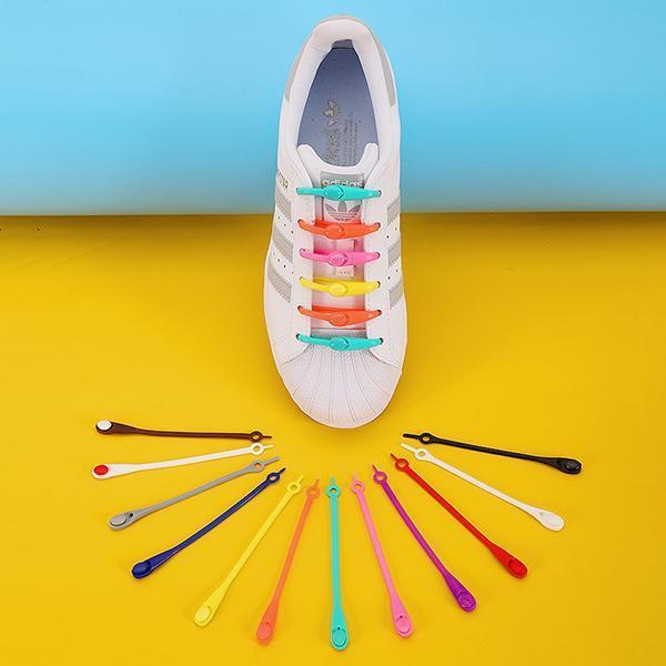 Lazy Elastic Shoelaces(14PCS)