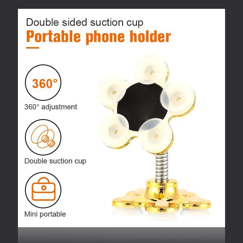 Double-Headed Suction Cup Magic Mobile Phone Holder