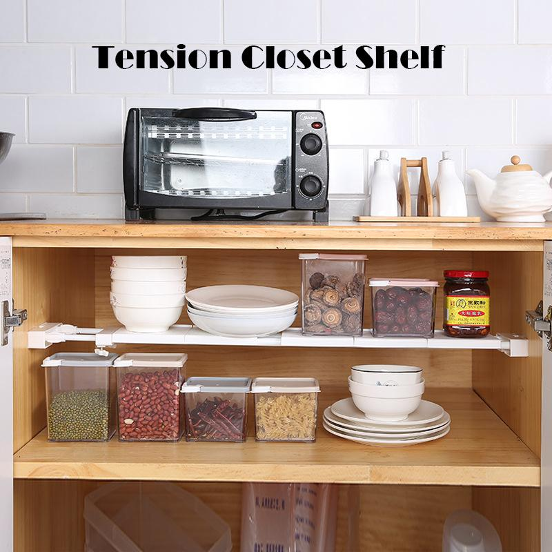Tension Closet Shelf