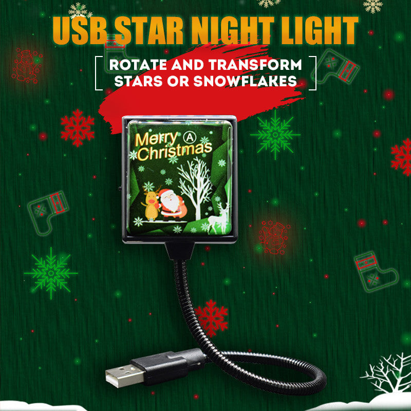 USB Star Night Light