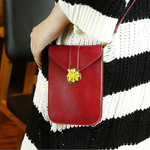 Touchable PU Leather Change Bag-1