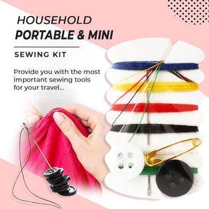 High-grade invisible plastic magnet button (5PCS)--Present a gift now: sewing set