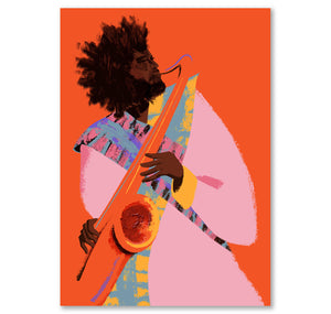 Becky M - Plakat «Kamasi Washington»
