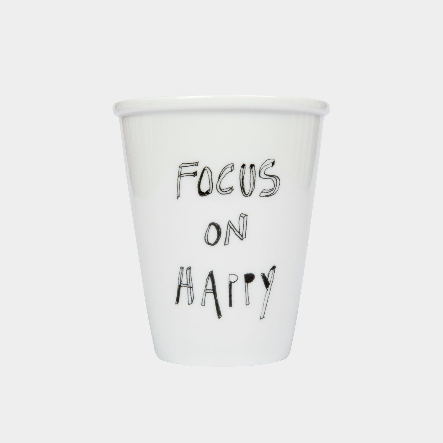 Helen B Tasse, focus on happy