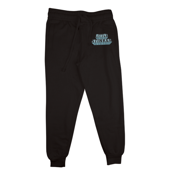 """Little Stinker"" Black Sweat Pants"