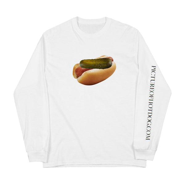 "Drew Gooden ""Hot Dog"" White Long Sleeve"