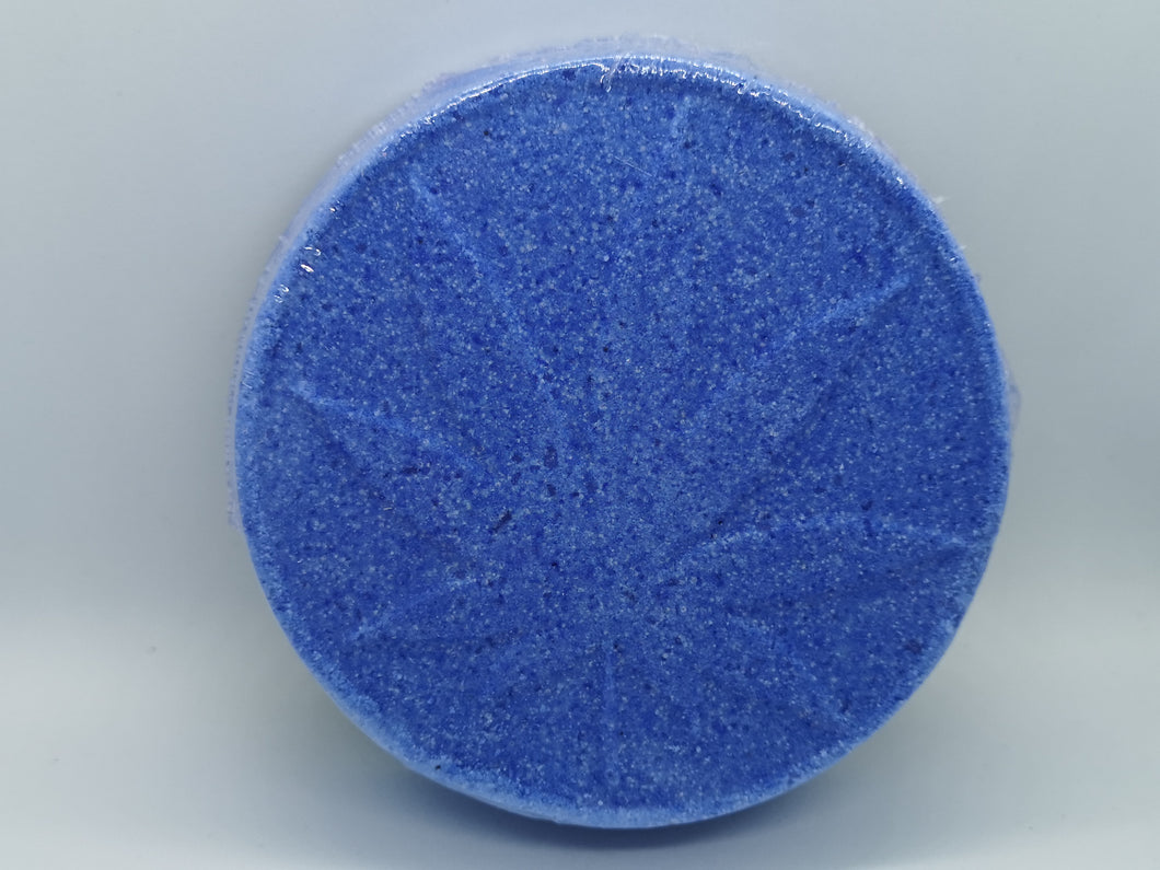 Bath bomb (Blue) 100mg broad spectrum CBD