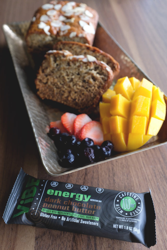 Vibe Energy Banana Bread