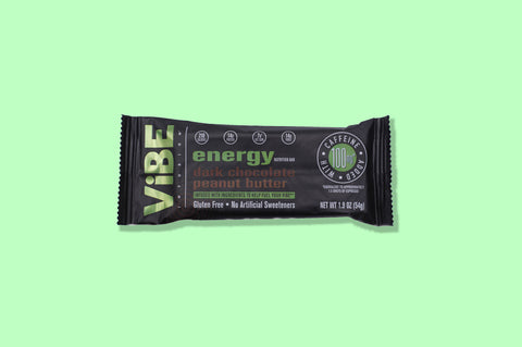 ViBE Infusion: Energy - Infused With Ingredients To Help Fuel Your Day (Box of 12 bars)