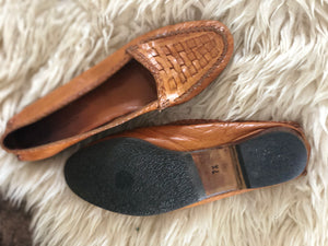 Cole Haan leather flats | 7 1/2