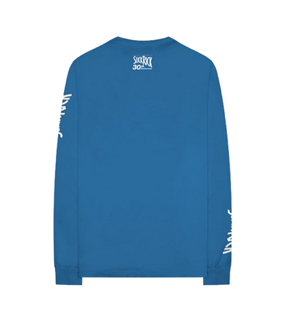 Blue Anniversary Long Sleeve