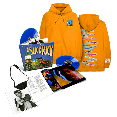 The Great Adventures Of Slick Rick Deluxe Edition LPs Collectors Edition & Hoodie Bundle