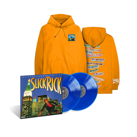 The Great Adventures Of Slick Rick 2LP Collectors Edition & Hoodie Bundle