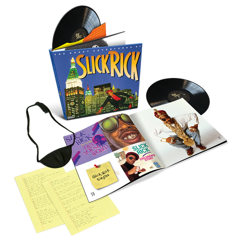 The Great Adventures Of Slick Rick Deluxe Edition LPs