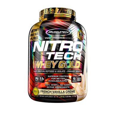 Proteina Muscletech NitroTech Whey Gold