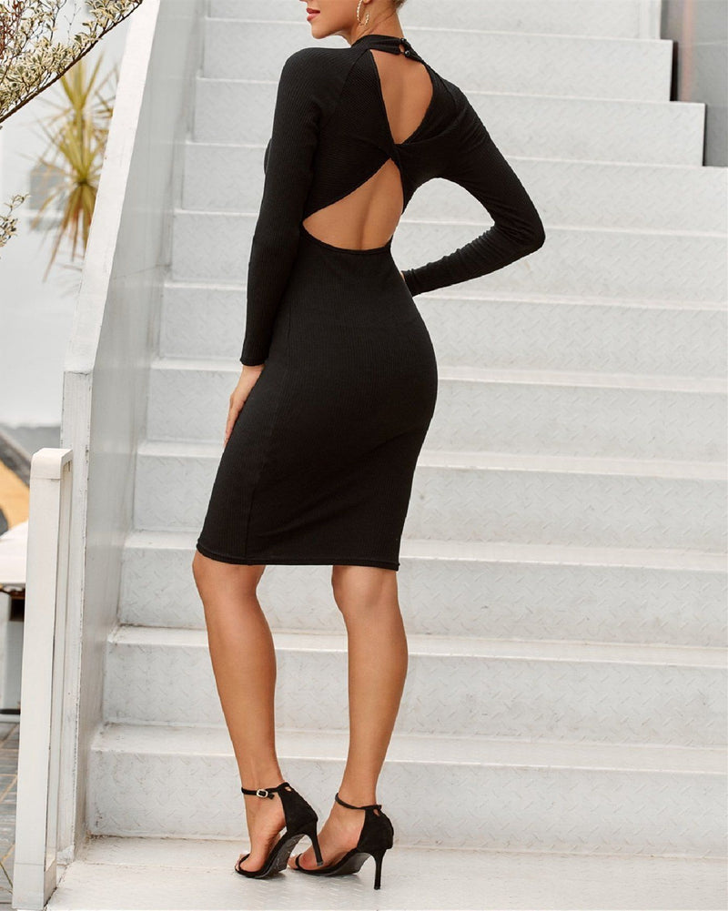 Classic Backless Sexy Dress oh!My Lady