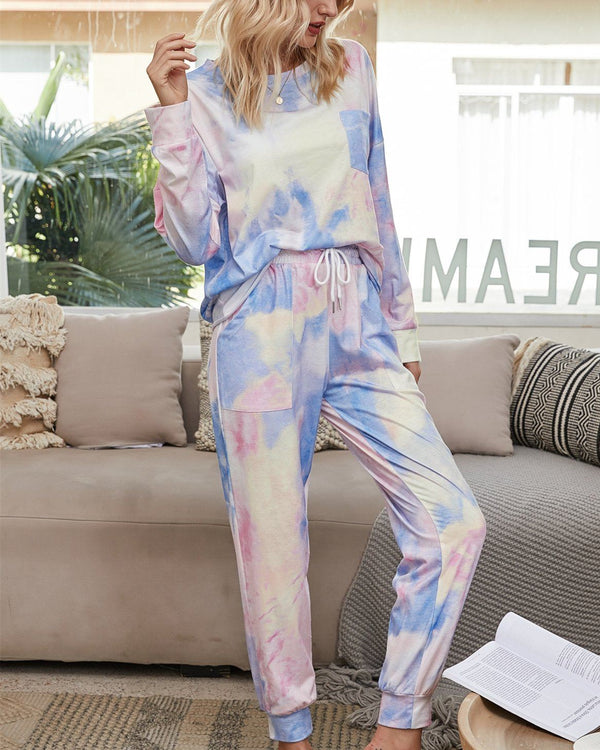 Light and Bright Cozy Pajama Suit - Purple Story oh!My Lady