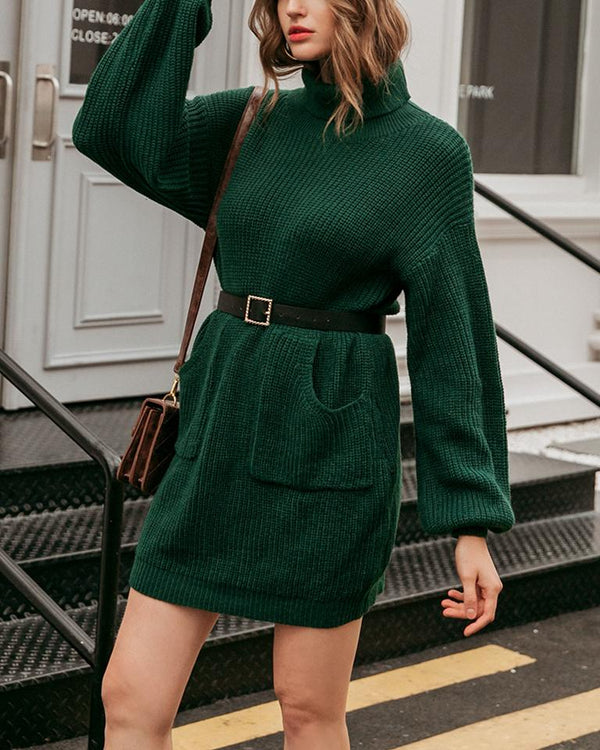 Memory Reader Knit Sweater Dress oh!My Lady