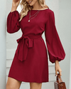 Must Be Love Chic Midi Dress - Red oh!My Lady