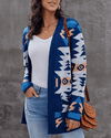 Next Level Cozy Knit Cartigan - Blue oh!My Lady