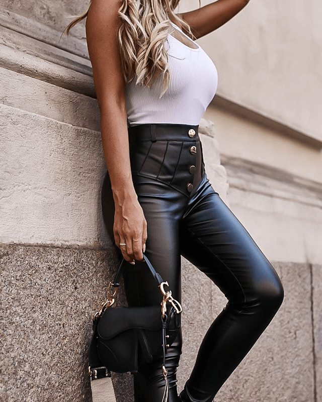 On the Run Leggings - Black oh!My Lady
